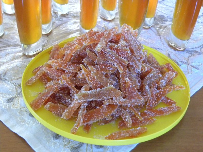 Candied Mandarin Peels