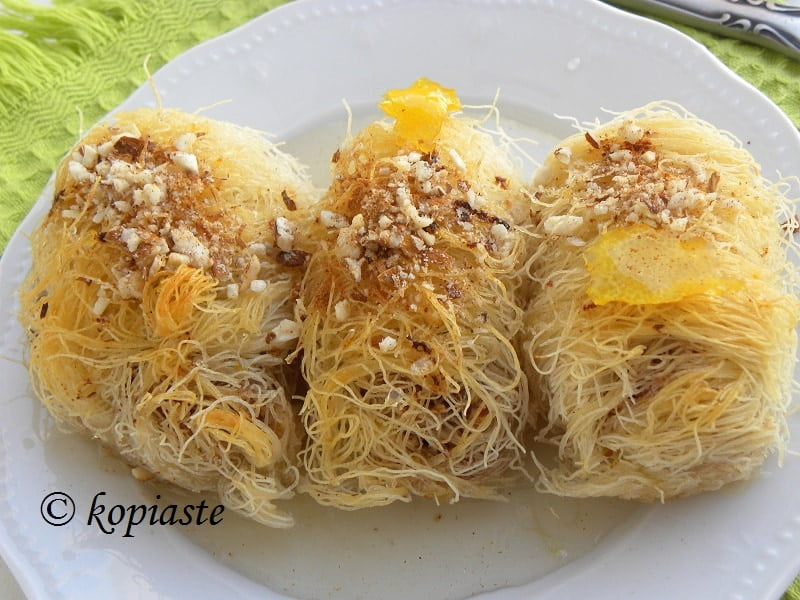 Lemon flavoured kantaifi image