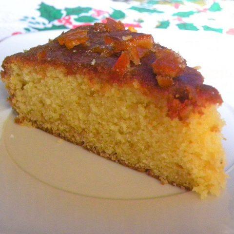 mandarin cake image