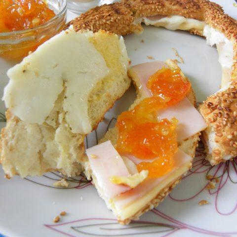 Mandarin Marmalade with Halloumi image