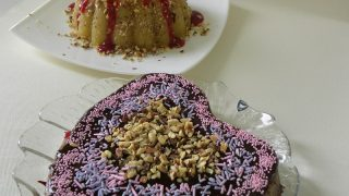 Halvas Nistisimos with Fruit and Almonds