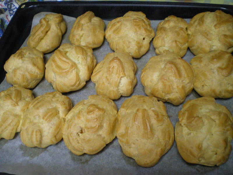 Choux pastry image