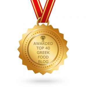 40 best Greek Food blogs award image