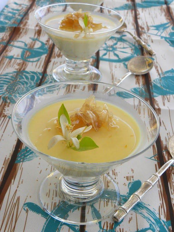 citrus panna cotta image