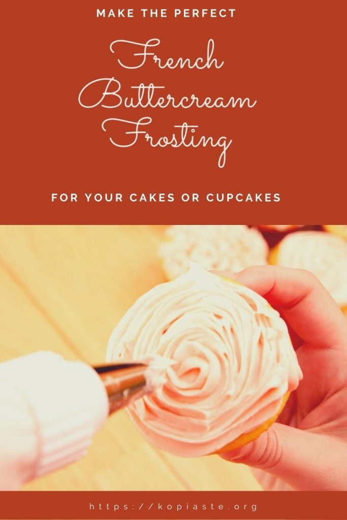 Collage French Buttercream for your cakes or cupcakes image