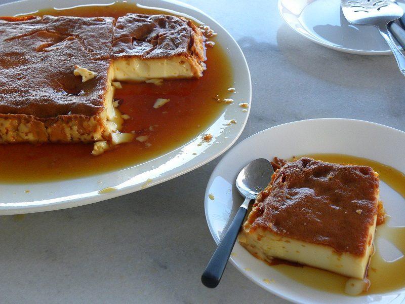 Flan or Crème caramel inverted image