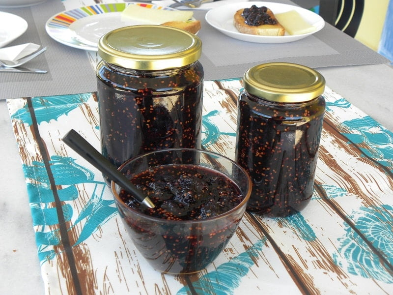 Mulberry and Lavender jam image