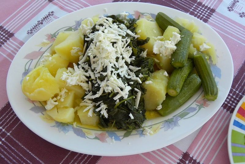 Vlita potatoes zucchini and feta salad image