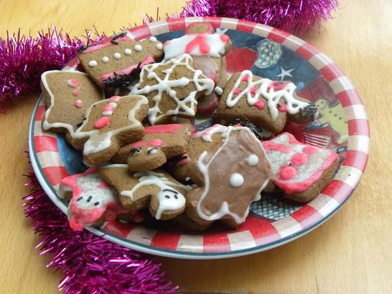 Gingerbread cookies image