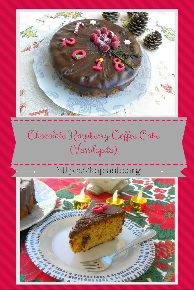 Collage Almond raspberry coffee cake image