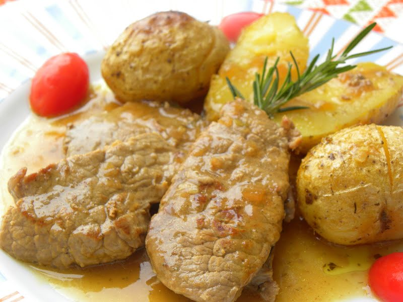 veal moschari lemonato image