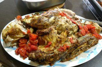 bogana served in a platter image