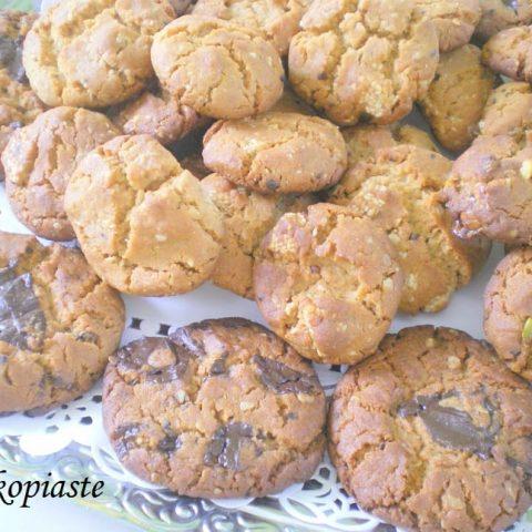 Honey, Peanut butter, Chocolate and Pastelli Cookies – Lakonia Part II
