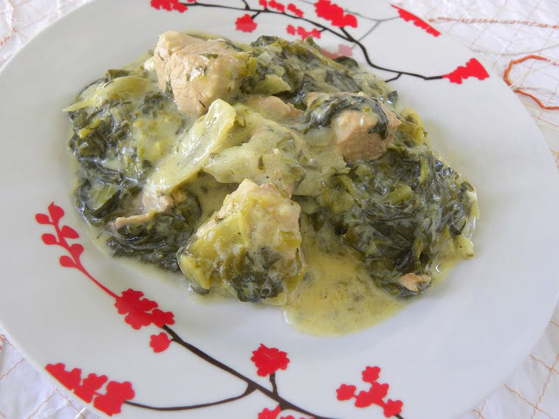 fricasse with lettuce image