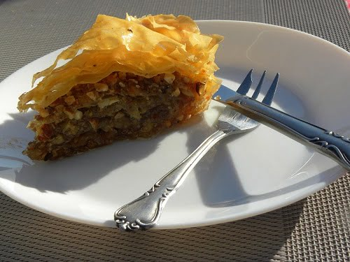 Traditional Greek Baklavas photo