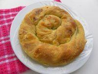 Tyropita Strifti (Greek Cheese Pie)