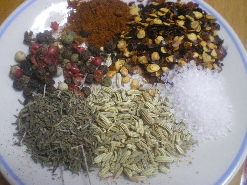 Spices used in escalopes image