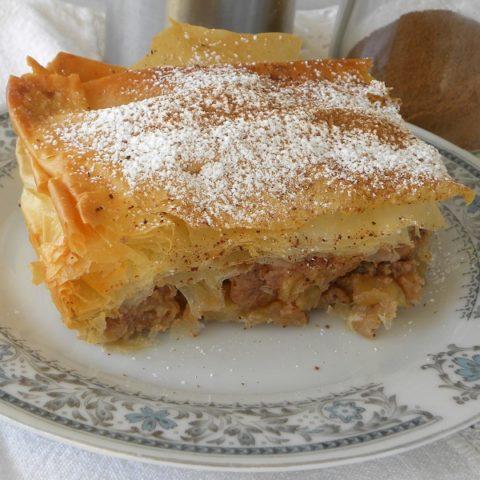 milopita greek apple pie image