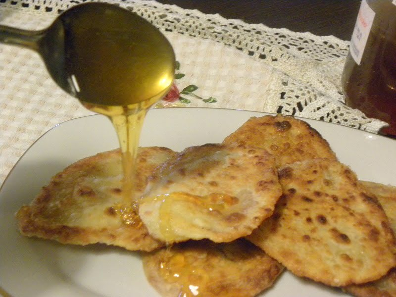 Pischies with honey