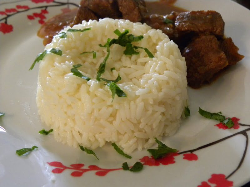 Rice pilaf with beef image