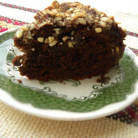 Vegan Chocolate Avocado Orange Almond Cake