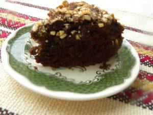 Vegan Chocolate Avocado Orange Almond Cake image