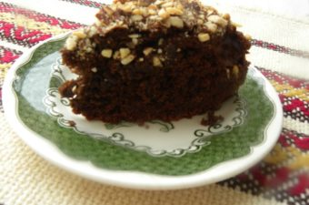 Vegan Chocolate Avocado Orange Almond Cake image