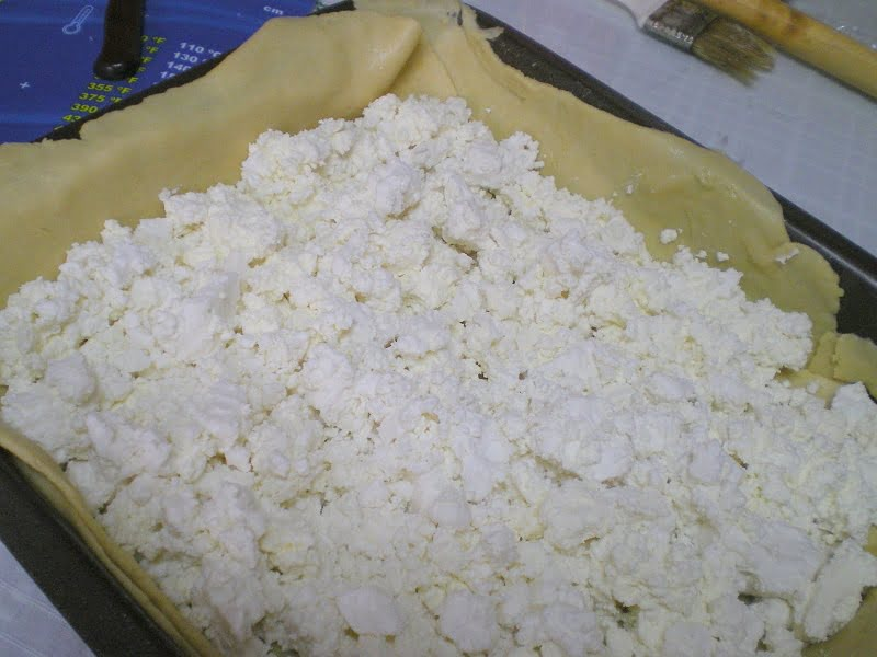 Cheese filling for kourou tyropita image