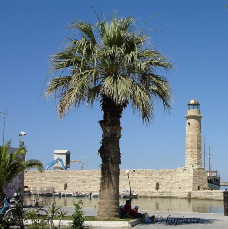 Rethymno lighthouse image