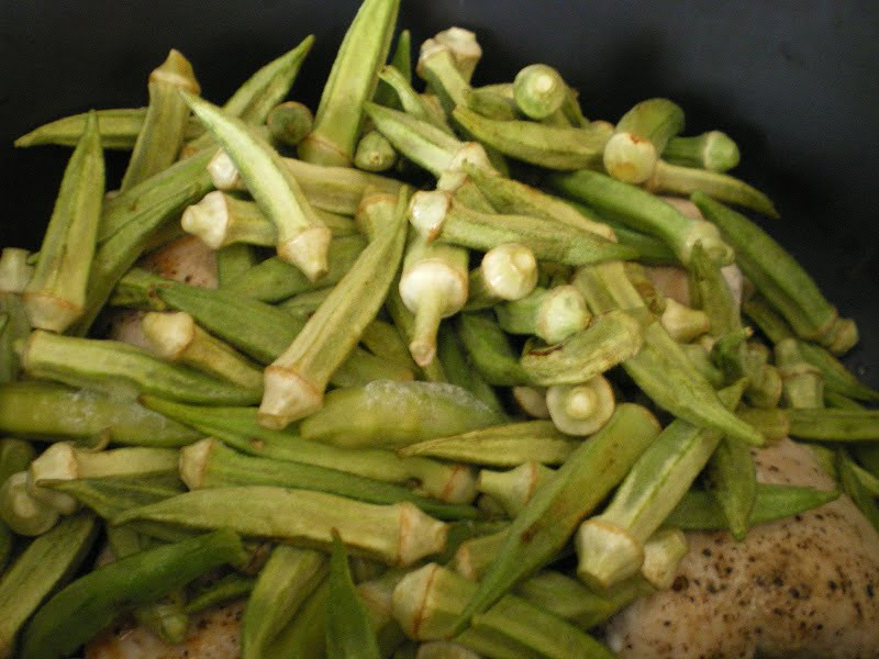 chicken and okra image
