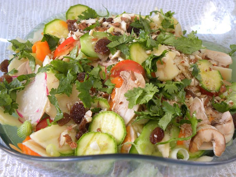 Raw Vegetable salad image