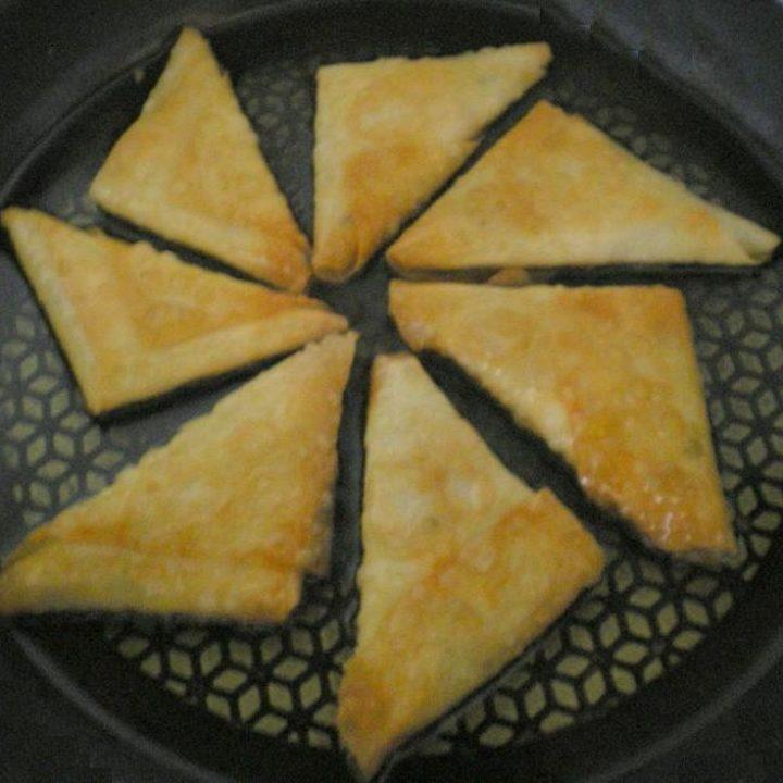 Vegan Bourekia with mushrooms image