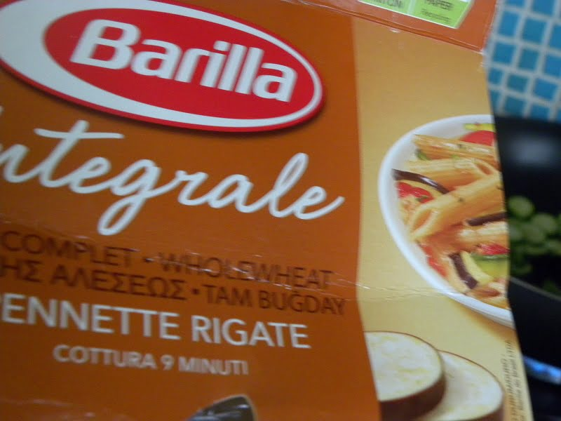 Whole wheat pasta image