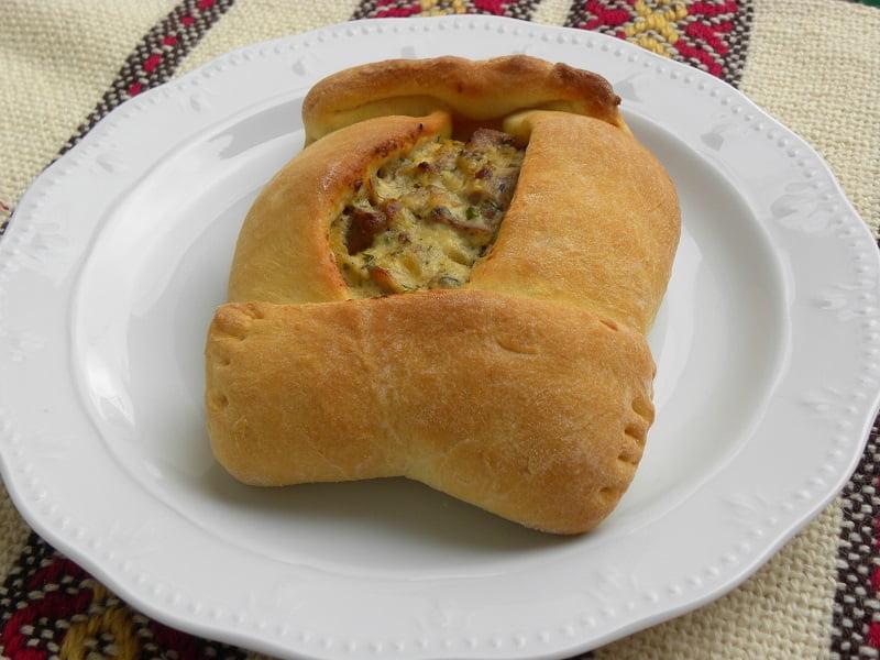 Arniopita, leftover lamb pie image