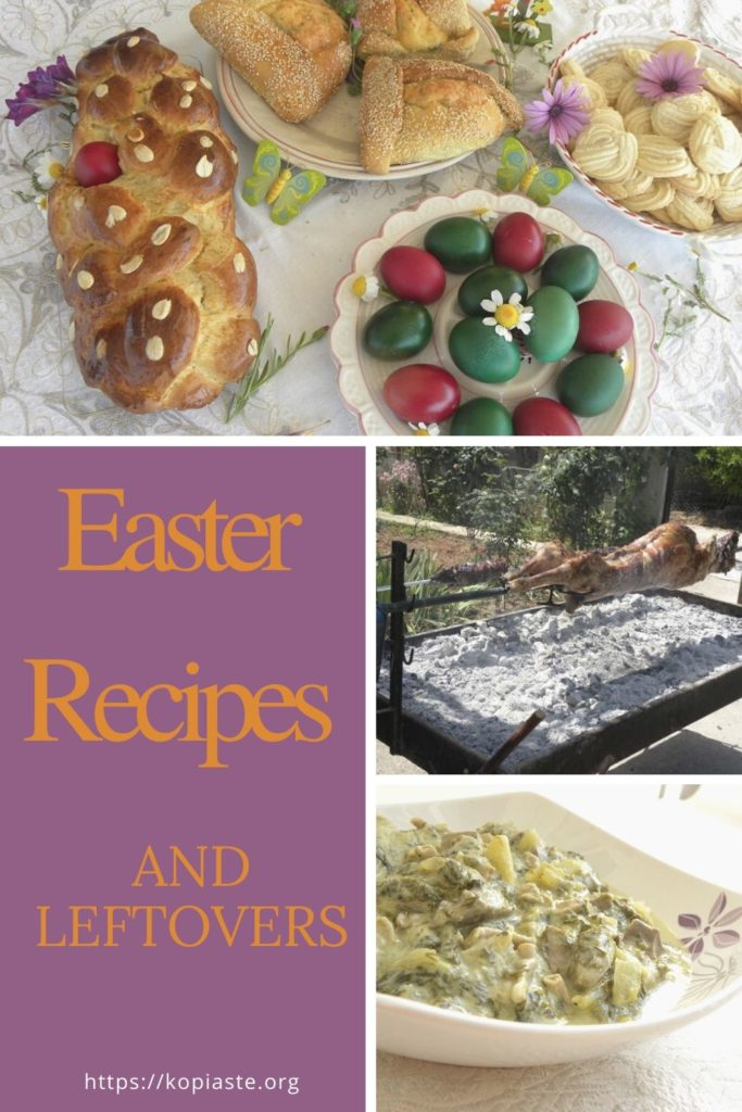 Collage Easter Recipes and Leftovers image