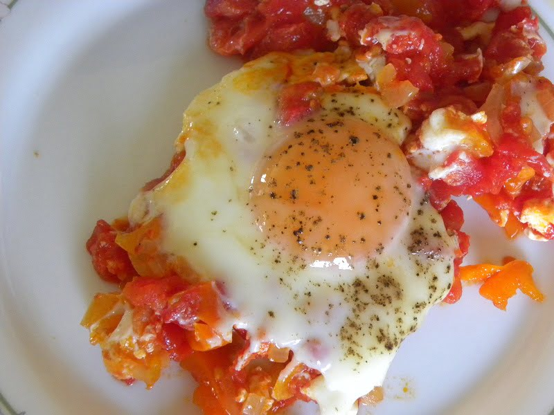 Kagianas with poached egg picture