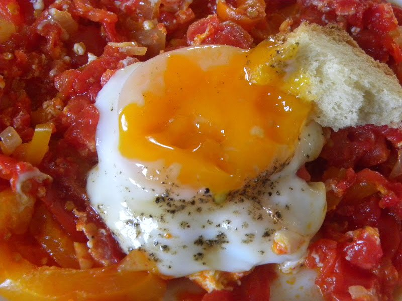 Kagianas with poached eggs image