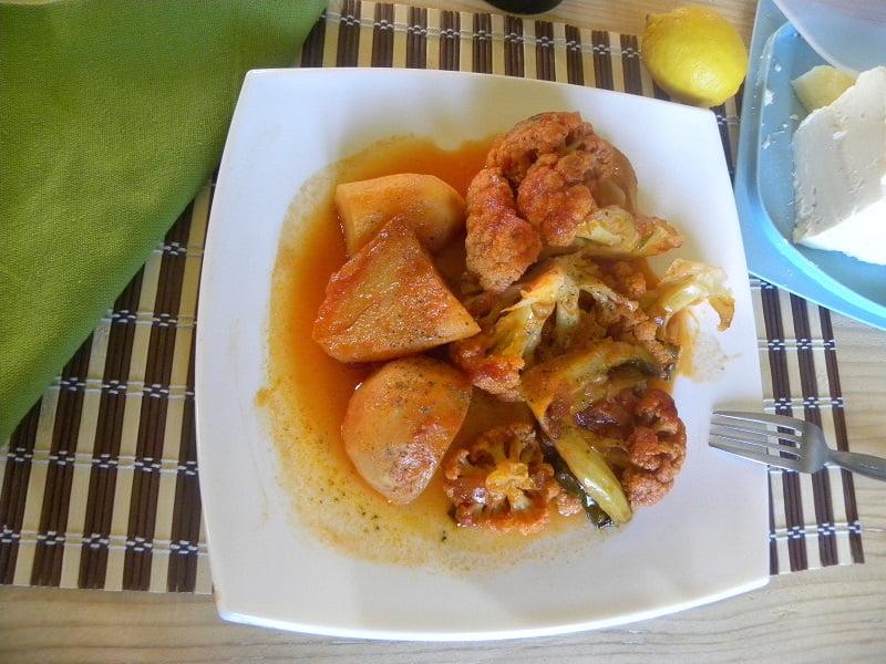 Kounoupidi Kapamas Cauliflower image