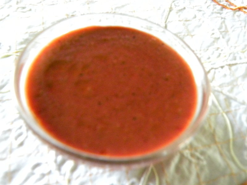 Strawberry vinaigrette image