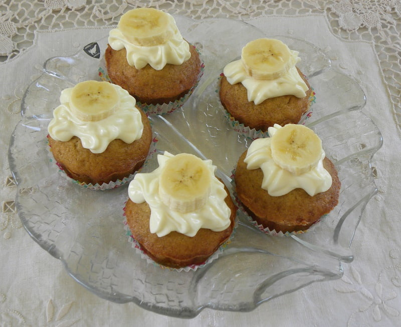 Masticha Banana Cupcakes image