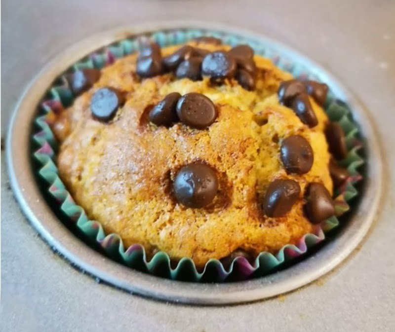 Banana Muffins with Chocolate chips picture