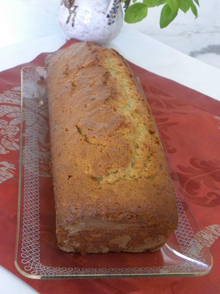 Homemade Banana bread with tahini image
