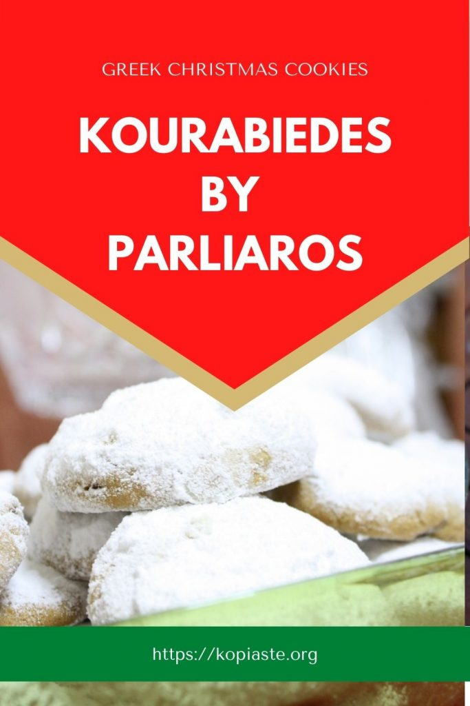 Collage Kourabiedes by Parliaros Christmas cookies image