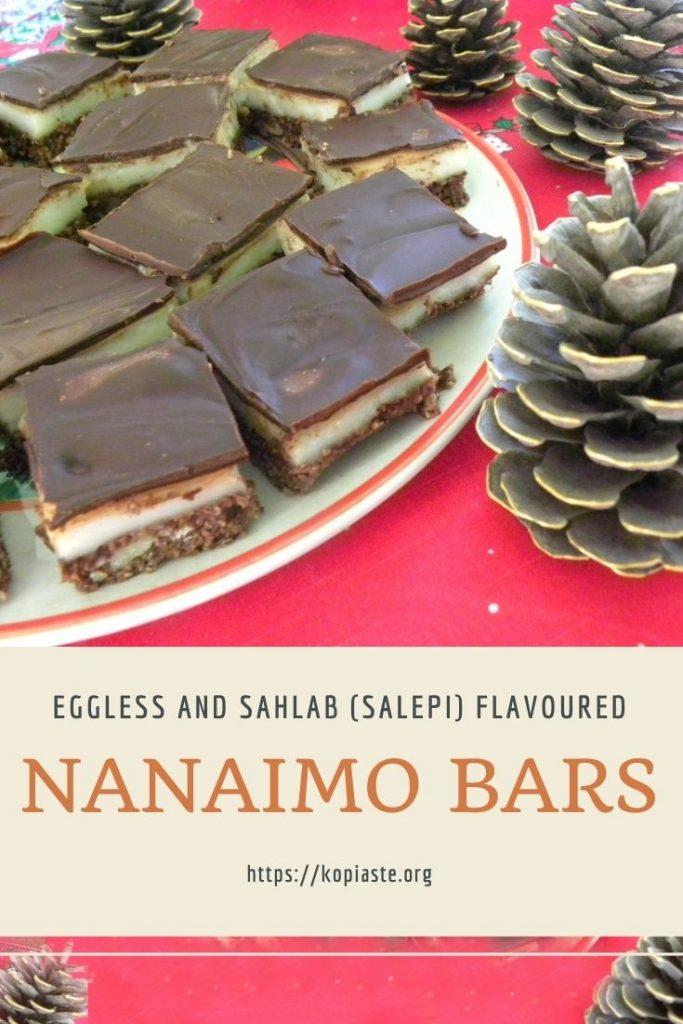 Collage Eggless Nanaimo Salepi Bars image