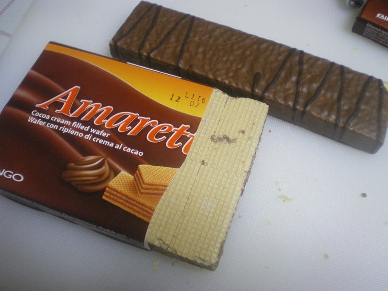 Wafer biscuits image
