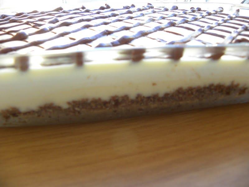 White chocolate nanaimo bars image