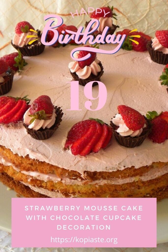 Collage Elias's Chocolate Mousse Cake image