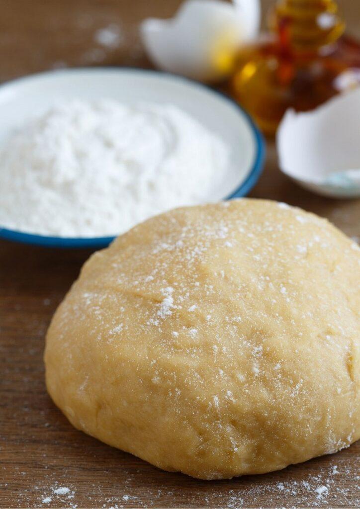 Making dough image