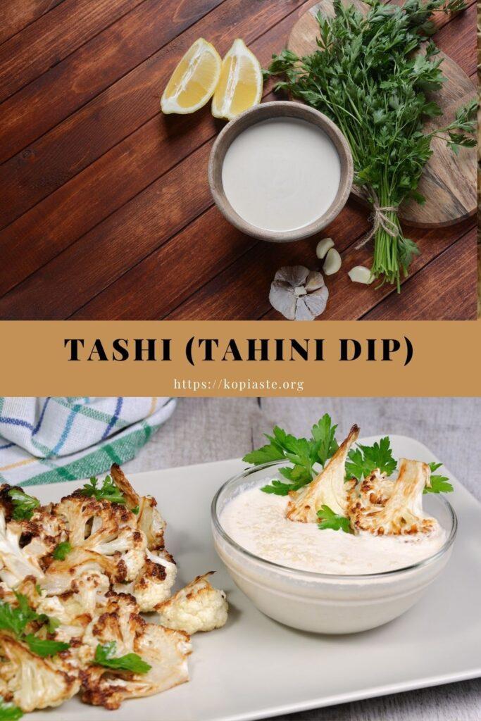Collage Tashi - Tahini dip image