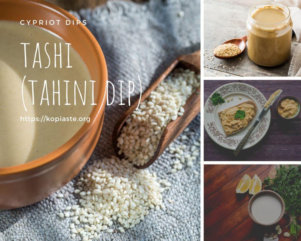 Collage Tashi dip photo